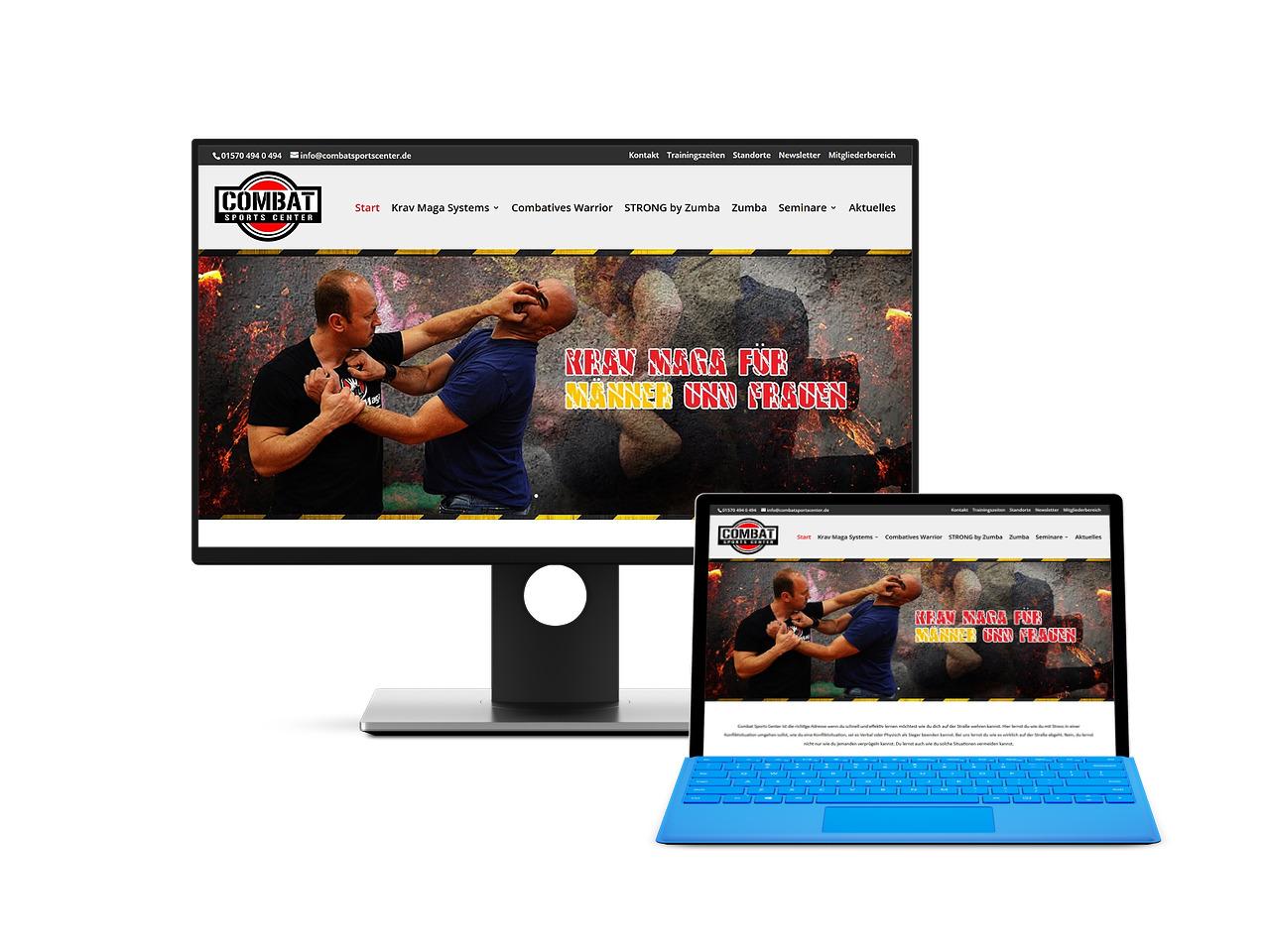Combatsports Webdesign Hechthausen Hemmoor Wingst Cuxhaven Stade