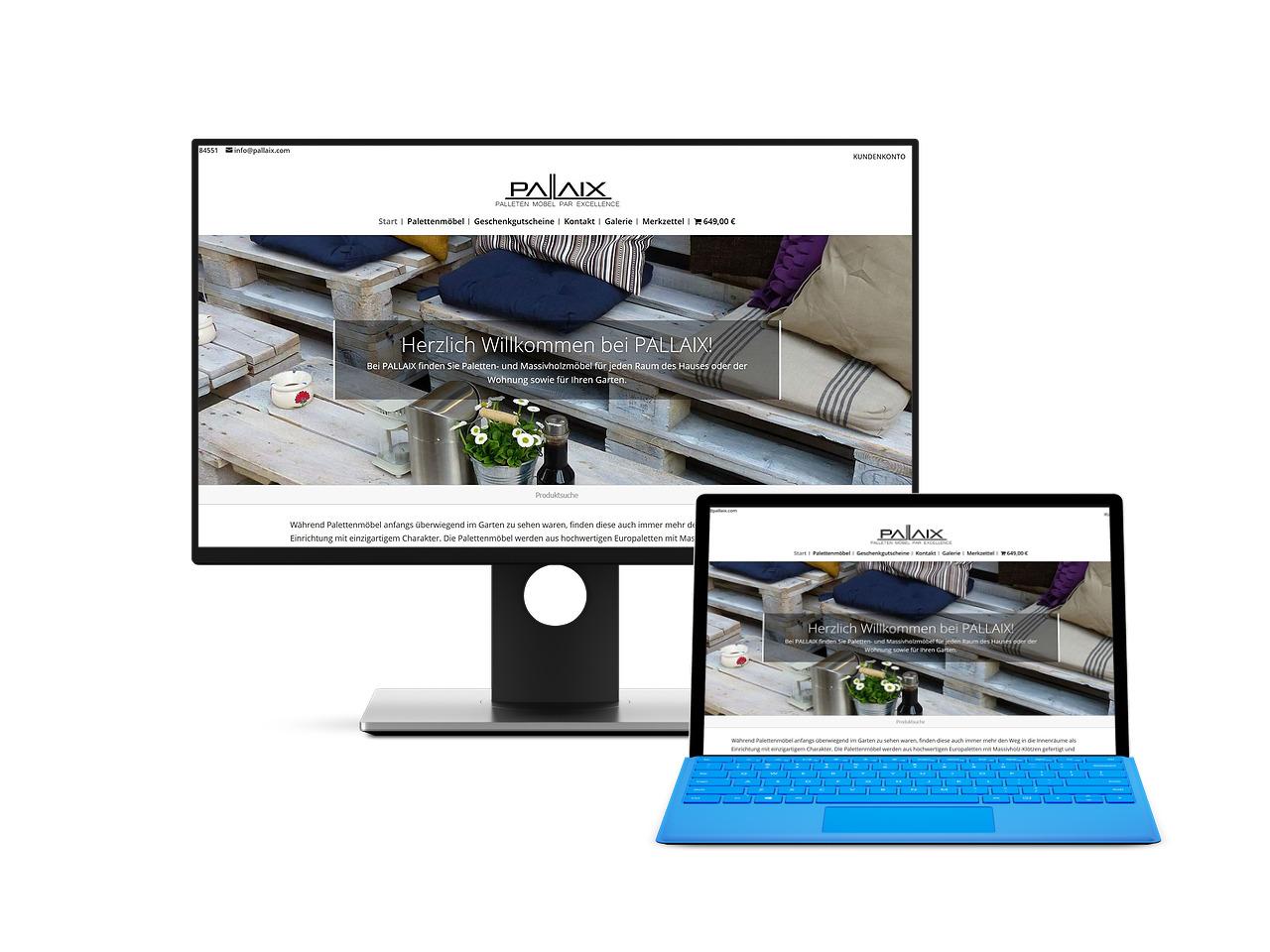 Pallaix Webdesign Hechthausen Hemmoor Wingst Onlineshop