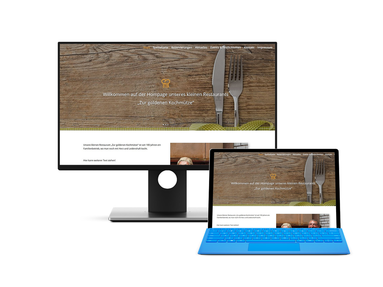 Restaurant Webdesign Hechthausen Hemmoor Wingst Cuxhaven Stade
