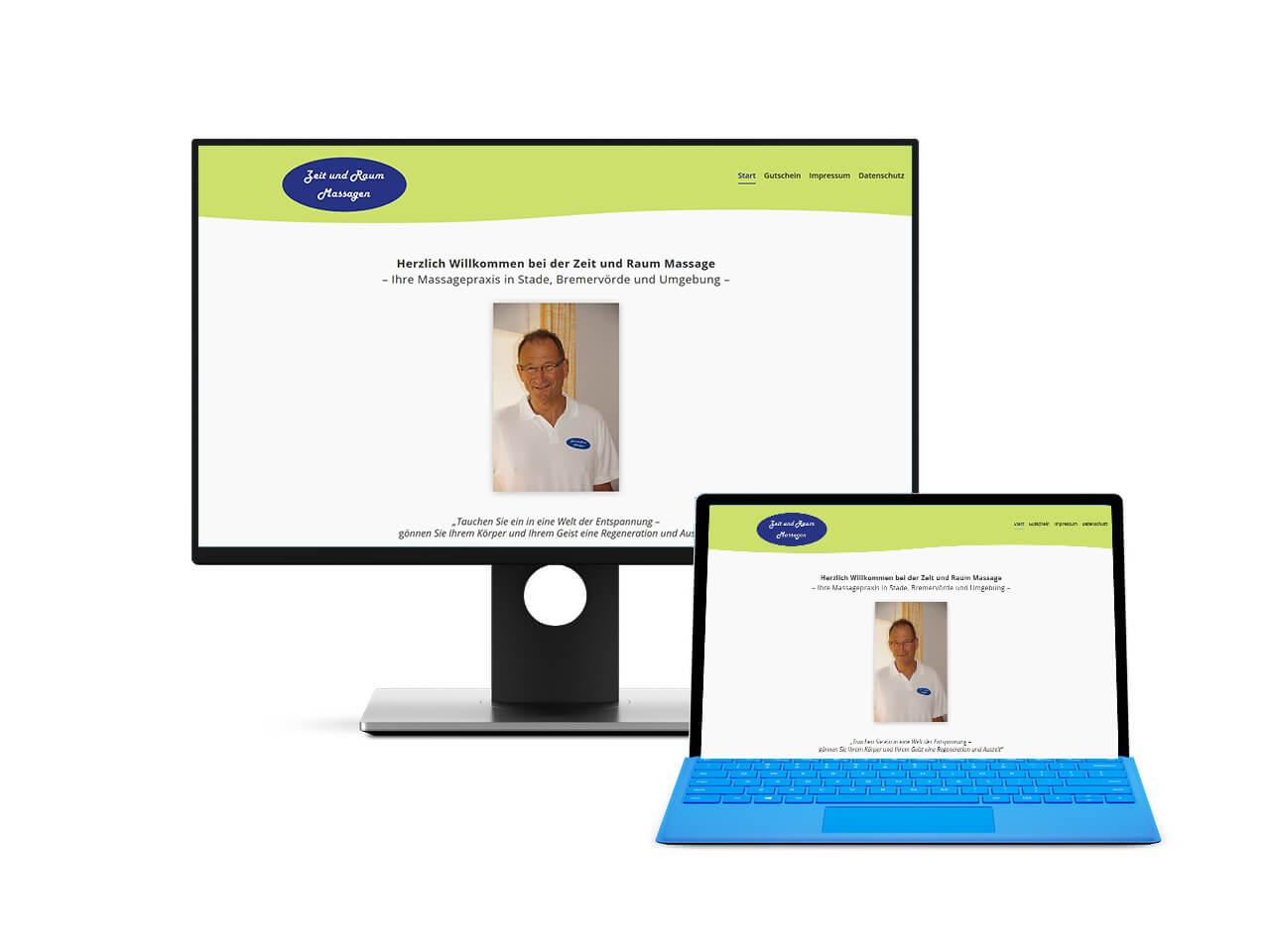 Webdesign Hechthausen Websiten für Masseure und Massagepraxen