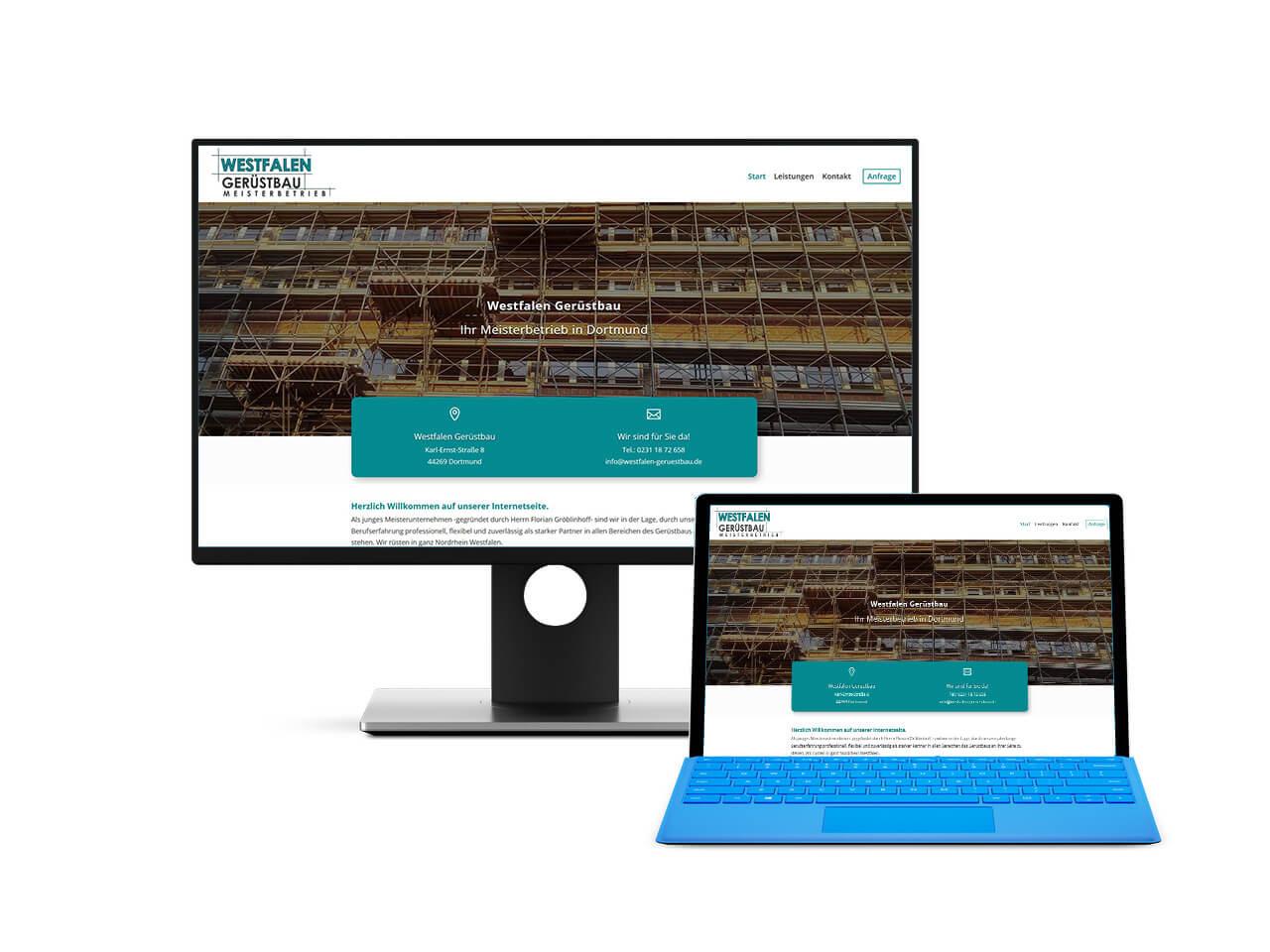 Webdesign Hechthausen Homepage für Firmen und das Handwerk