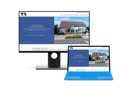 Seite für Topp & Stelling aus Hemmoor