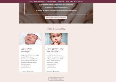 Website mit Blogfunktion