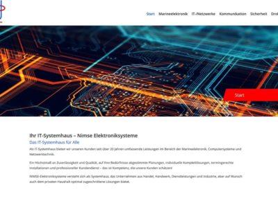 Vorschau Startseite Nimse Elektroniksysteme