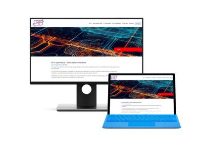 Seite für Nimse Elektroniksysteme aus Drochtersen