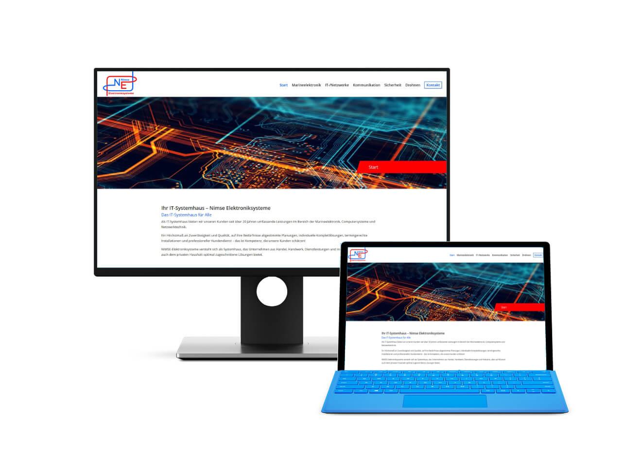 Webdesign Drochtersen Webseiten für Firmen